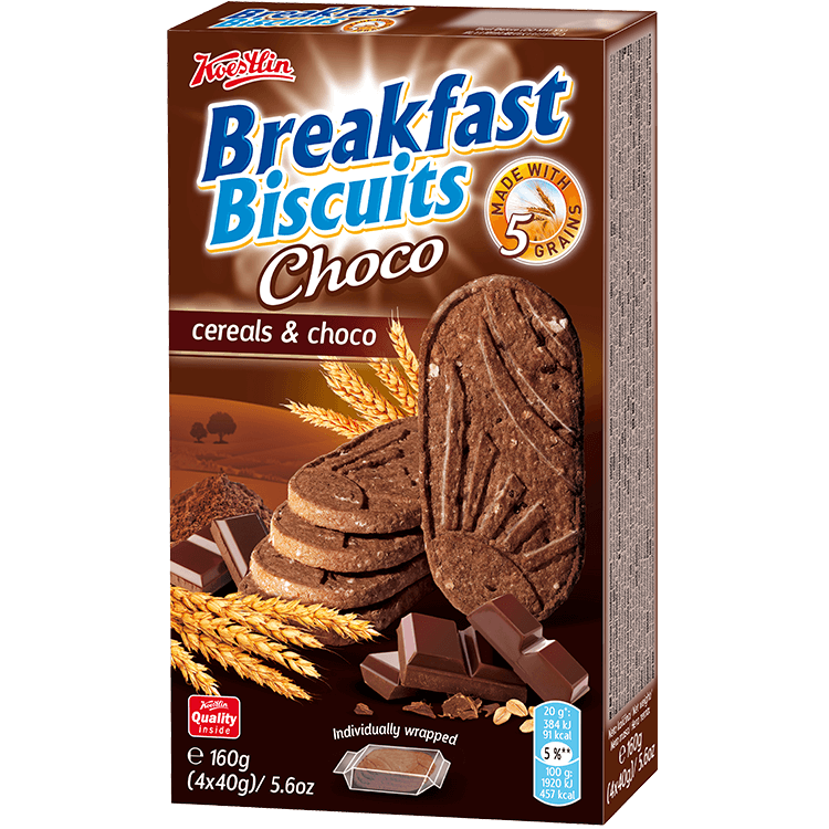 Breakfast biscuits - Cereals & Choco