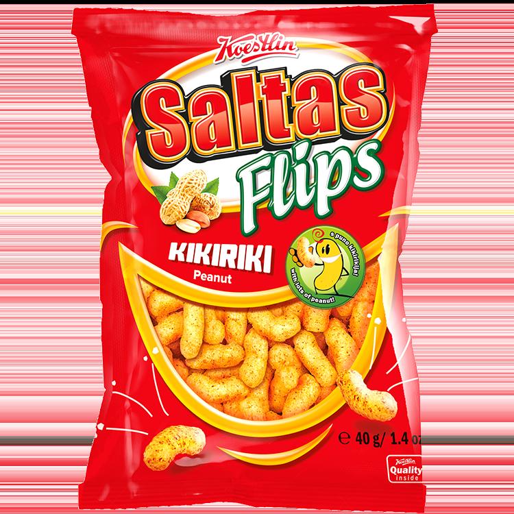 Saltas Flips Erdnuss