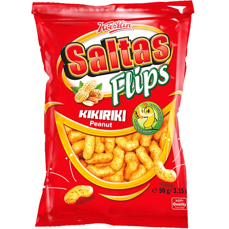 Saltas Flips kikiriki(''Saltas flips arachidi'')