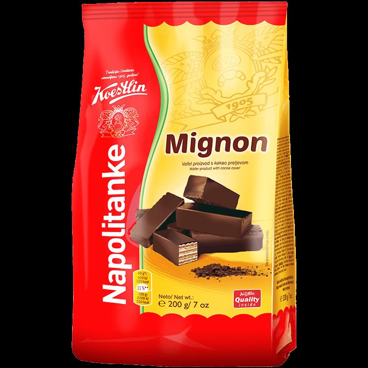 """Napolitanke Mignon (""""Wafer Mignon'')"""