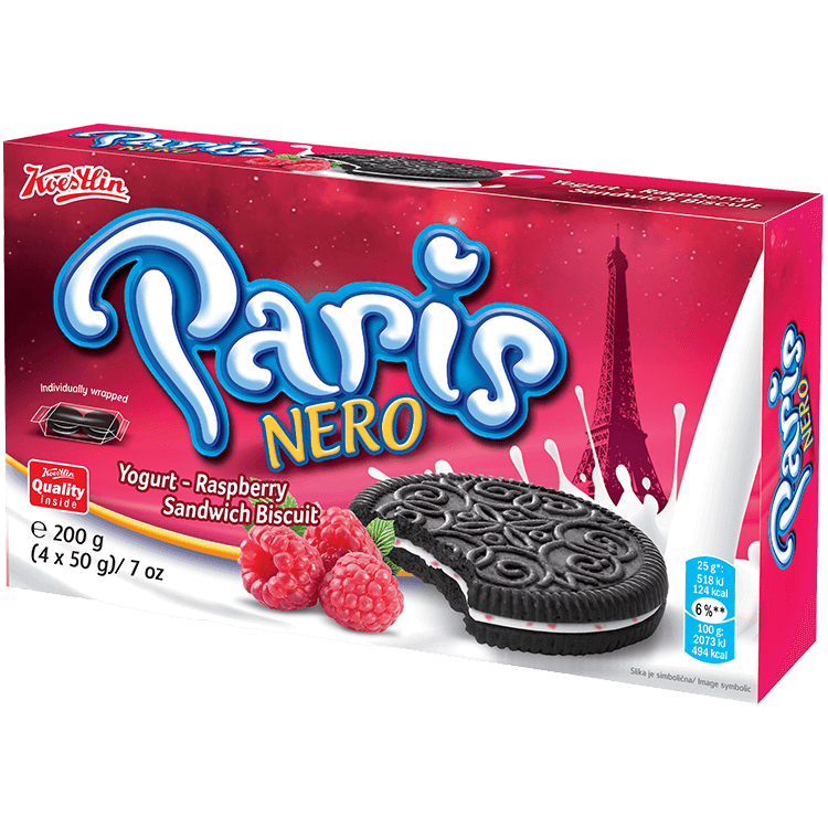 Paris Nero yogurt – raspberry