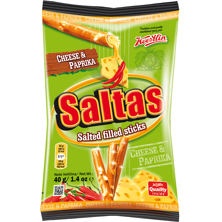 Saltas cheese & paprika