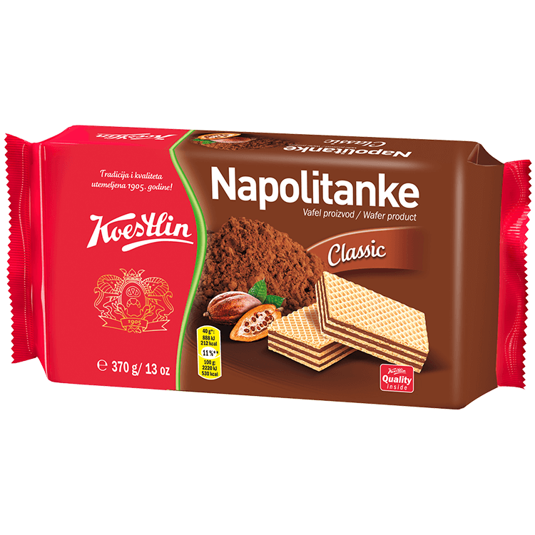 Napolitanke Classic (''Wafer classico'')
