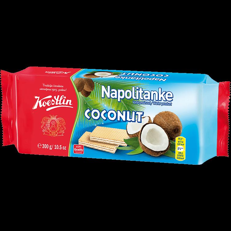 Napolitanke Coconut (''Wafer noce di cocco'')