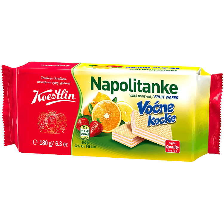 Napolitanke Voćne kocke