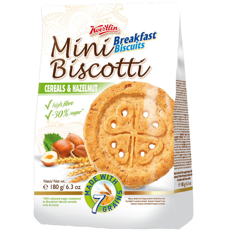 Mini Biscotti BB hazelnut 180g